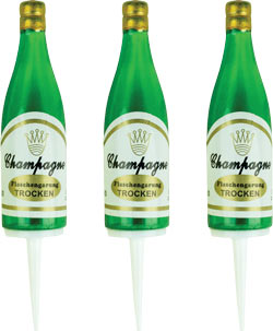 Champagne Bottle Pick - Small