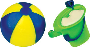 Beach Ball & Pail Rings