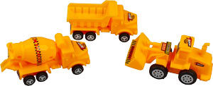 Construction Zone 3 pc sets - Trucks Only