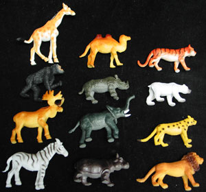 Jungle Animals Assortment - New Style