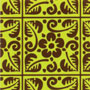Transfers: Tropical Tiles-Yellow Green