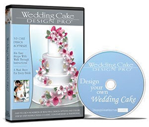 Cake Design Pro : Product Detail (Wedding Cake Design Pro 3-D Software)