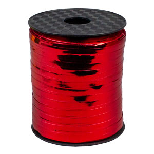 Shiny Curling Ribbon - Red