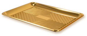 Gold Pastry Trays - 30 x 39.5 cm