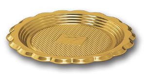 Mini Medoro Tray - Gold - 12 cm (100/pk)