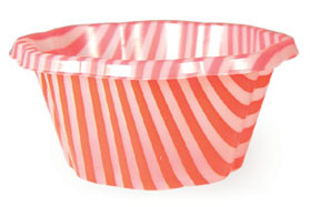Joy Gelato Cup - 170cc (Red/White)