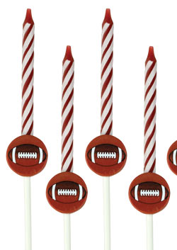 Cakedeco Candle Sets - Football