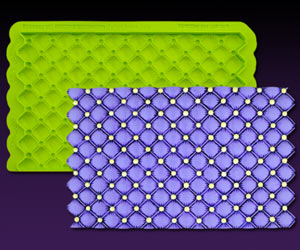 Tufted Swiss Dots Simpress Mat