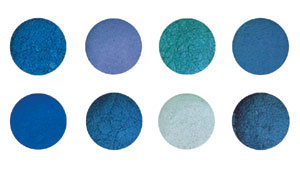 Beautiful Blues Dust Set (8 Pc)