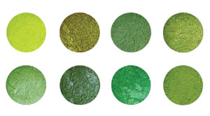 Green With Envy Dust Set (8 Pc)