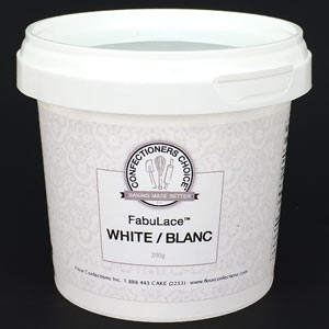FabuLace Mix - White - 200 grams