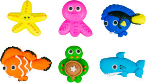 Sea Life Cuties - Assorted