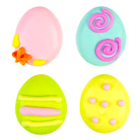 Tiny Easter Eggs Stylized