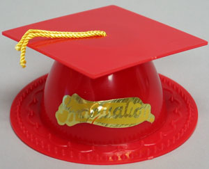 Graduation Hat - Red