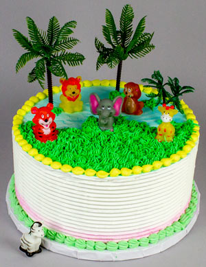Jungle Finger Puppets Cake Kits