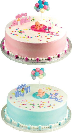 It's a Girl/ It's a Boy Cake Kit
