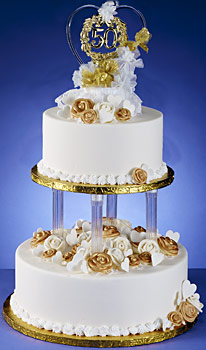 Product Detail Silver Tiers Topper Cake Kit