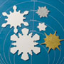 Snowflake Cutter Set - 5 Pc