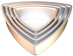 Triangle Convex Pan- Alum- 12