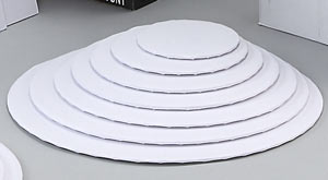 White Wrap Around Circles - 12