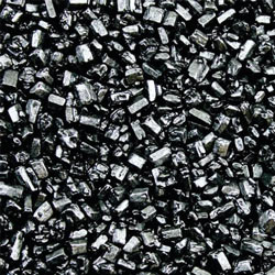 Metallic Black Pearl Sugar Rocks - 4 Oz.