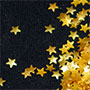 Edible Glitter Stars - Gold - 80 grams