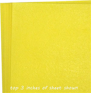 Wafer Paper- 10 Pack- Yellow