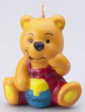 Honey Bear Novelty Candles